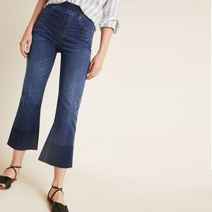 {SPANX} High Rise Cropped Flare Jeans